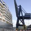 Queen Elizabeth berthed at Clydeport