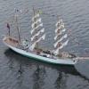 Tall Ship in Parade of Sail