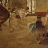 La Repitition by Degas