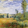 Vetheuil by Monet
