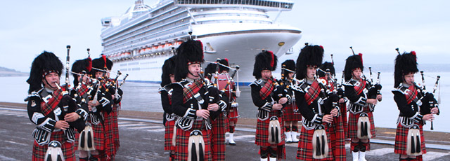 Cruise Destinations Itineraries Scotland Cruise Glasgow Home - Cruise ships at greenock